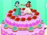 Jasmine decorar bolo