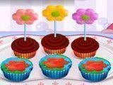 Fazer cupcakes das flores