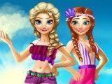 Moda praia Anna e Elsa