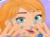 Anna Frozen manicure