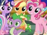 Turma My Little Pony no circo