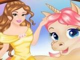 Princesa e unicórnio moda