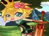 Princesa guerreira na moda