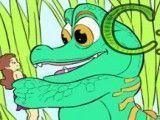 Crocodilo pintar desenho
