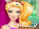 Barbie fazer leitura do livro