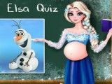 Elsa grávida questionário