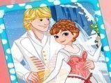 Vestir Anna e Kristoff casamento