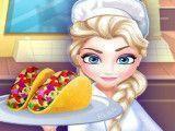 Fazer tacos com Elsa