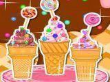 Receita de cupcakes de sorvete