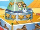 Bolo do casamento egípcio decorar