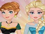 Frozen e Rapunzel moda da estilista
