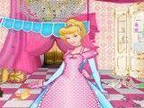 Princesas limpeza do castelo