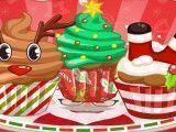 Fazer cupcakes de natal e decorar