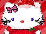 Hello Kitty maquiagem para Natal