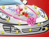 carro da noiva Elsa decorar