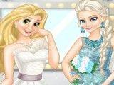 Rapunzel e Elsa capa de revista