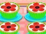 Decorar cupcakes das flores
