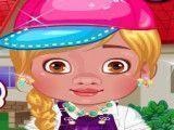 Vestir bebê Moana