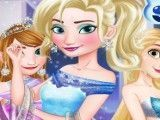 Rapunzel, Elsa e Anna vestidos