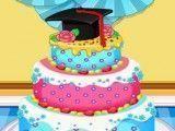 Decorar bolo da Anna formatura