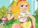 Barbie decorar bike e vestir roupas