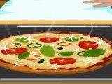 Receita de pizza molho pesto