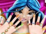 Jasmine cuidar das unhas