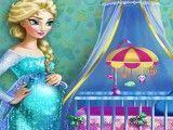 Elsa grávida decorar quarto