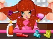 Fazer penteados na menina