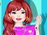Barbie pintar unhas