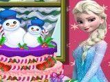 Bolo de natal da Elsa
