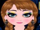 Anna bebê maquiagem de bruxas