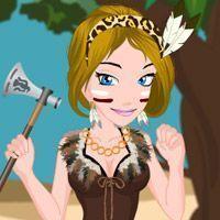 Vestir menina tribal