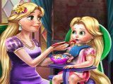 Rapunzel comidinha da bebê