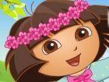 Vestir Dora no parque