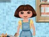 Roupas sujas da Dora