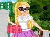 Vestir menina de férias