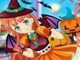 Vestir menina no Halloween