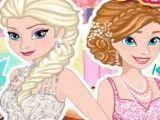 Elsa e Anna festa de aniversário