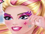 Super Barbie maquiagem