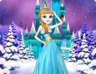 Vestir princesa do gelo