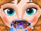Anna cuidar da garganta