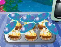 Fazer cupcakes de chocolate e baunilha decorado