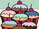 Pintar livro dos cupcakes