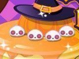 Preparar panquecas para Halloween