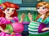 Grávidas Anna e Ariel moda
