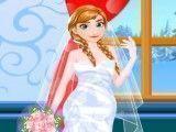 Noiva Frozen Anna
