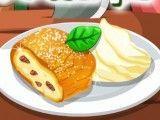 Fazer biscoito recheio de maçã