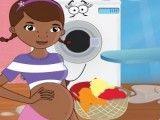 Doutora Brinquedos lavanderia grávida