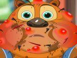 Cuidar do ursinho ferido
